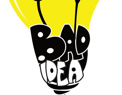 "Check out new work on my @Behance portfolio: ""Bad Idea Clothing"" http://on.be.net/1LK261J"