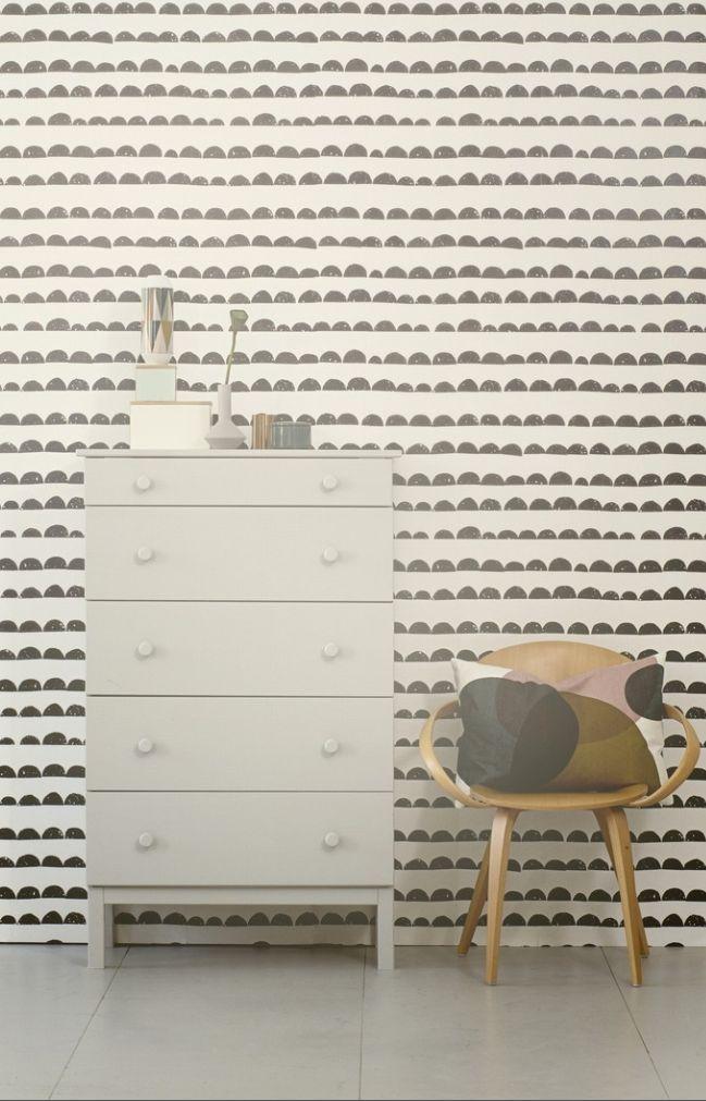Ferm Living Shop — Half Moon Wallpaper