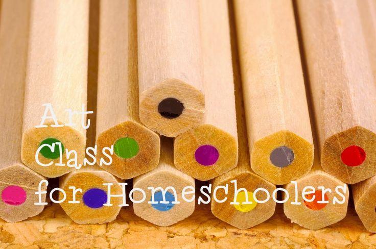 Art class ideas for homeschoolers