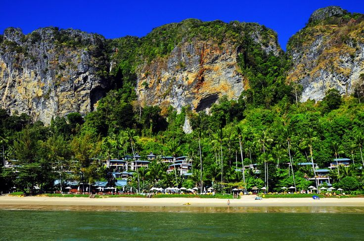 beachfront - Ao Nang Beach, Krabi, Thailand