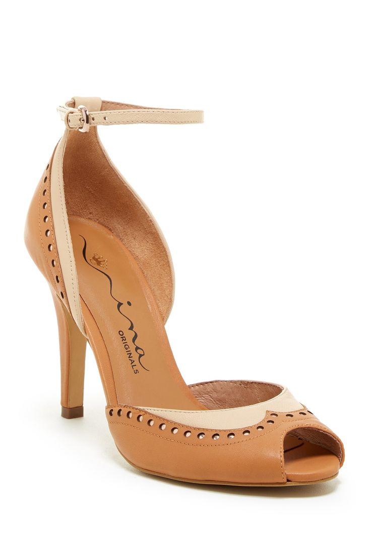 Nina Shoes Sylvia Wingtip Pump by Nina Shoes on @nordstrom_rack