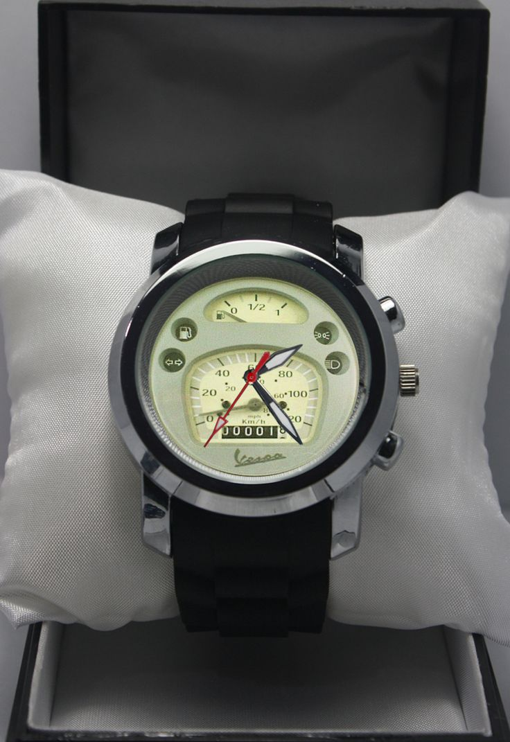New Sport Custom Watch Rubber Band Speedo Vespa PX125 Wristwatches Fit For Gift