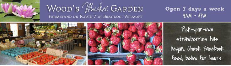 Wood's Market Garden, Brandon, VT