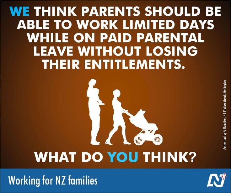 National is making changes to parental leave to better support families and children