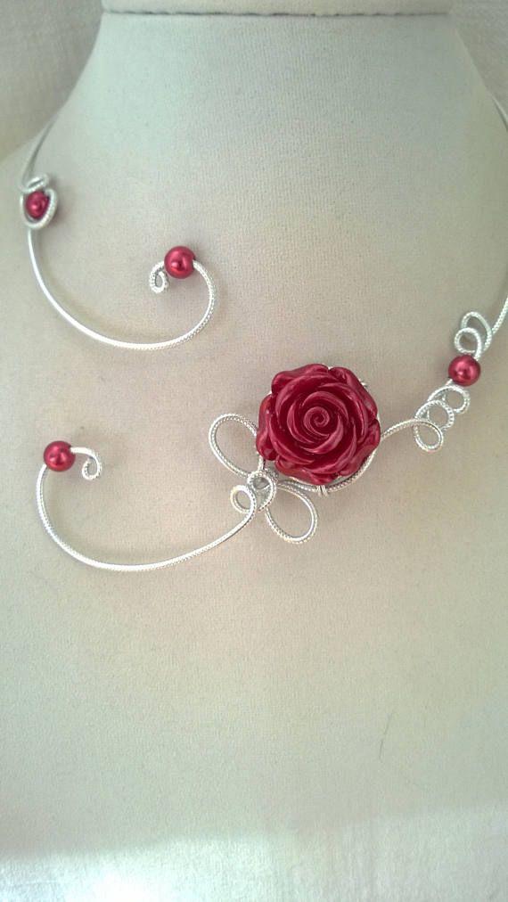 FREE GIFT  Free earrings  Burgundy  jewelry Burgundy