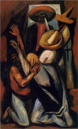 Zapata - Jose Clemente Orozco. http://www.artexperiencenyc.com/social_login/