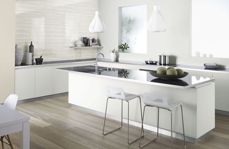 a neutral coloured kitchen.