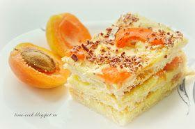 Мастерская на кухне: Слоеный тортик с абрикосами и заварным кремом