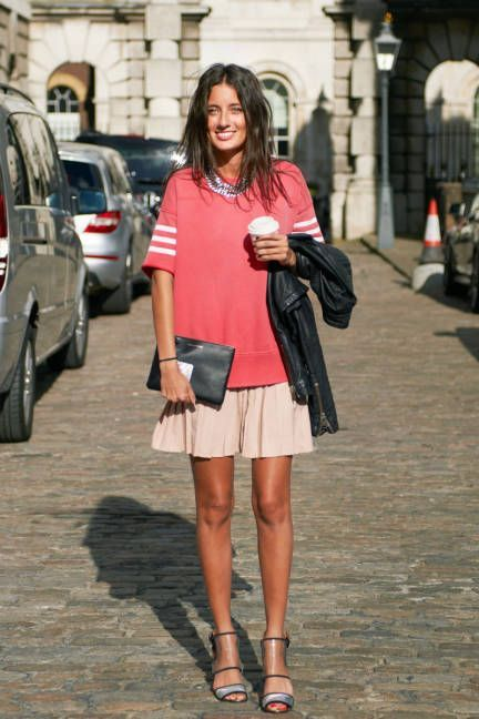 Mix and match inspiration looks! More street style on the blog!