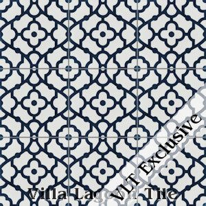 25 best ideas about blue white bathrooms on pinterest for Blue and white cement tile