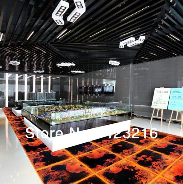 Liquid Motion Lava Floor Modern Creative Floor Tiles