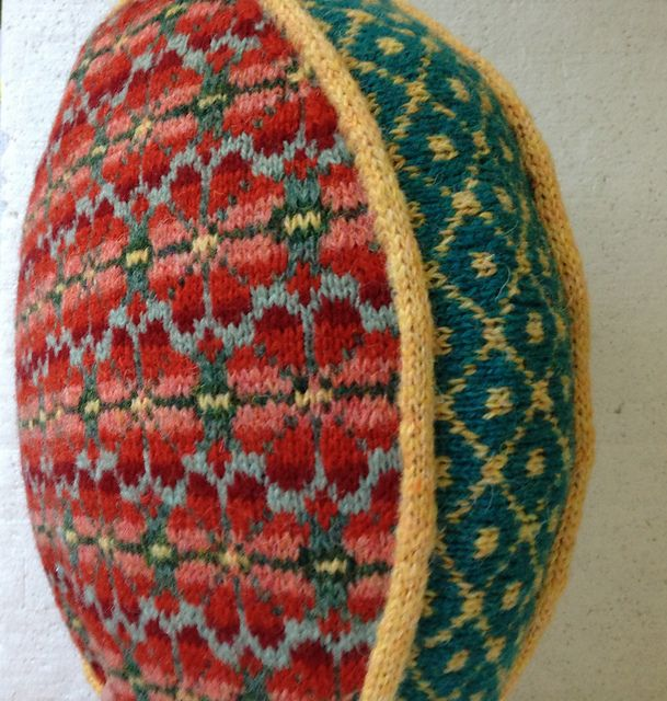 Ravelry: Fair Isle Pillow with Steeks pattern by Suzanne Bryan