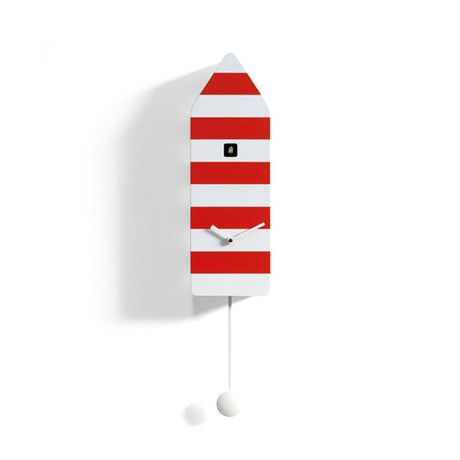 Capri Cucko wall clock looks like a lighthouseo on the Isle of Capri