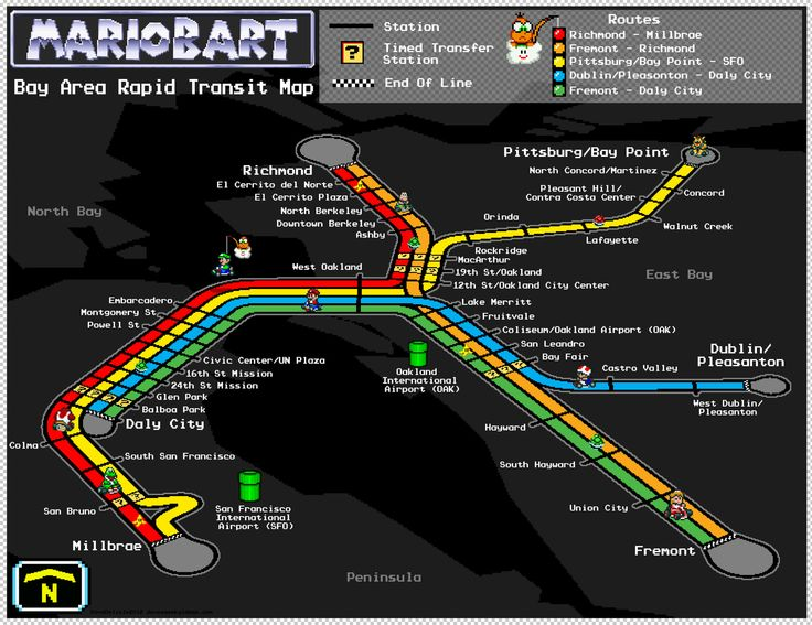 This MarioBART Map Takes Rainbow Road Right Through San Francisco