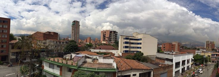 My first glance of Medellin, Colombia.