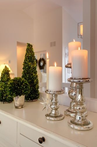 Bathrooms.....Holiday Decorating I can paint some goodwill candle sticks