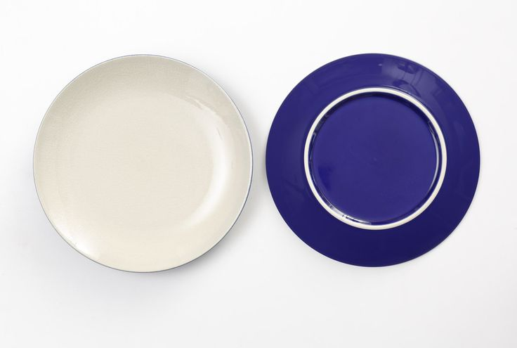 Multi - Side Plate - Blue and White
