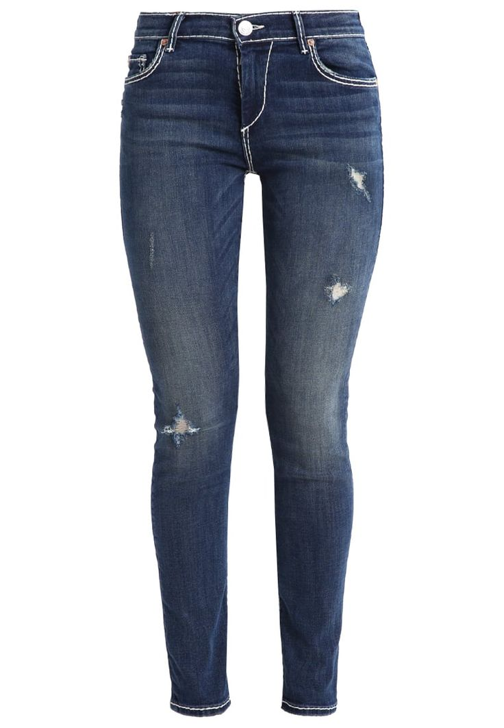True Religion HALLE FLAP SUPER Jeans Skinny Fit dusty haze Premium bei Zalando.de | Material Oberstoff: 92% Baumwolle, 6% Elastomultiester, 2% Elasthan | Premium jetzt versandkostenfrei bei Zalando.de bestellen!