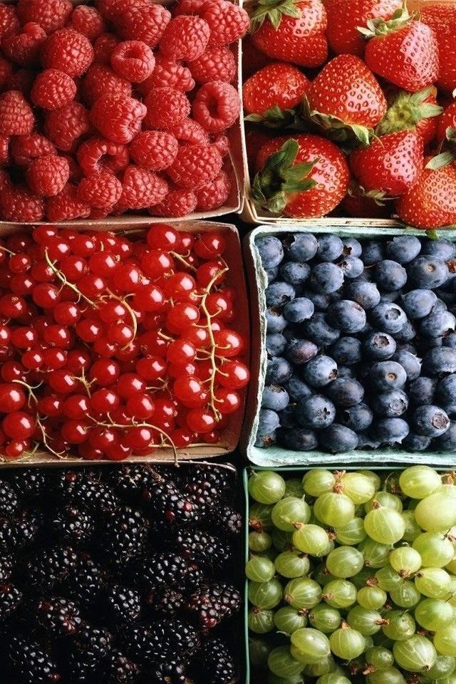 Rasberries,Strawberries,Cherries,Blueberries Blackberries