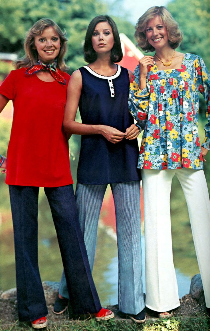 Kay Campbell, Colleen Corby & Wendy Hill (JCPenney Catalog - 1977)