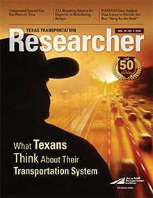 Texas Transportation Researcher: Volume 50, Number 4
