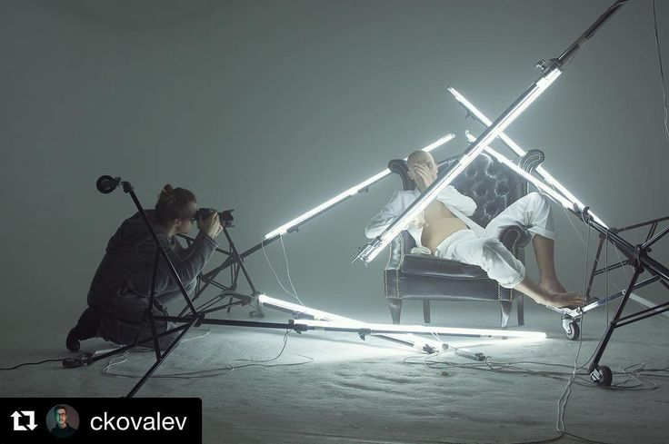 Behind the scenes by @ckovalev |  It's so important for creators to break out of their comfort zone. I used to use #strobes on almost every project I shot. But now inspired by my recent collaborations with @thomasburns_dop I'm not only trying to work more with continuous lighting but trying to build lights whenever possible. This assignment for @thr_rus The Hollywood Reporter #magazine is a good example: despite the fact that we were shooting in a fully equipped #studio I didn't use a…