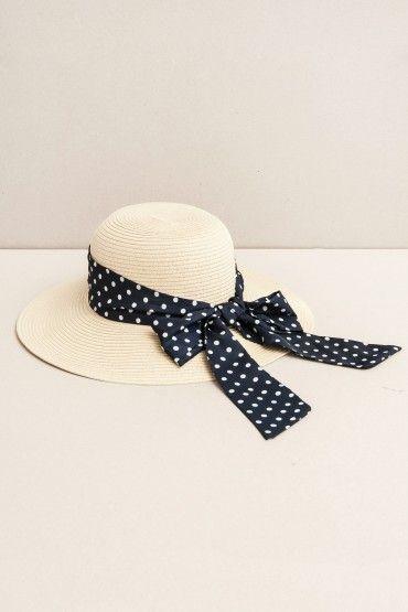 Sombrero cinta con puntos