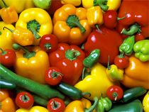 Freezing Sweet, Bell or Hot Peppers-  Peppers are one of those foods you can quickly freeze raw without blanching them first. Thawed, raw peppers still retain some crispness and can be used in cooked dishes or raw in uncooked dishes.