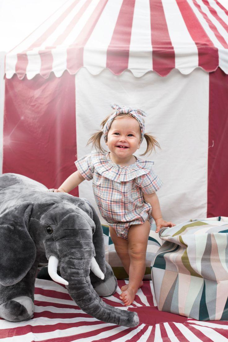 Cute Childrens Wear Vintage Circus Kids Editorial Nordic Style MeMini