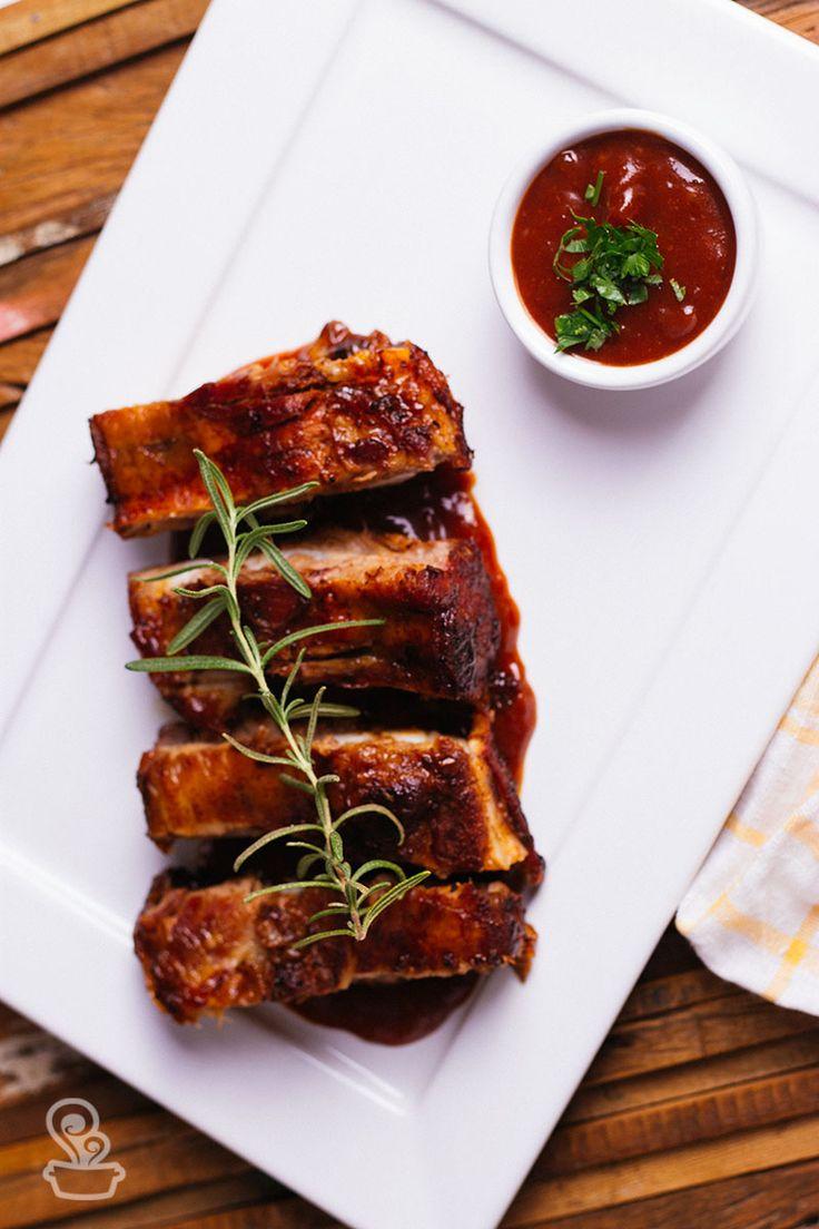 aprenda a receita dessa deliciosa e suculenta costelinha de porco com molho de goiabada
