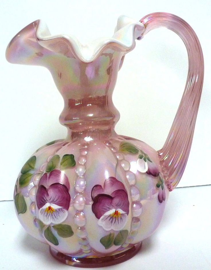 358 Best Fenton Glass Images On Pinterest Crystals Carnival Glass