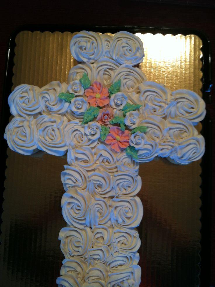 Cupcake Cross The Flour Girlz Pinterest Crosses And