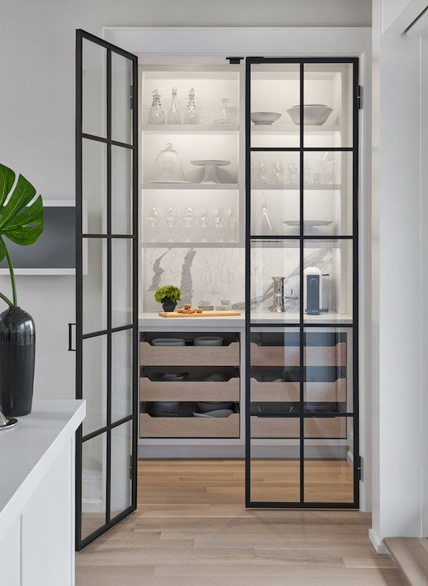 17 Best Images About House Beautiful Pantries On Pinterest: On The Hunt For: Black Steel Doors