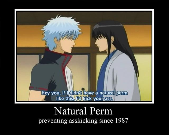 Katsura and Gintoki Gintama and the perm solution