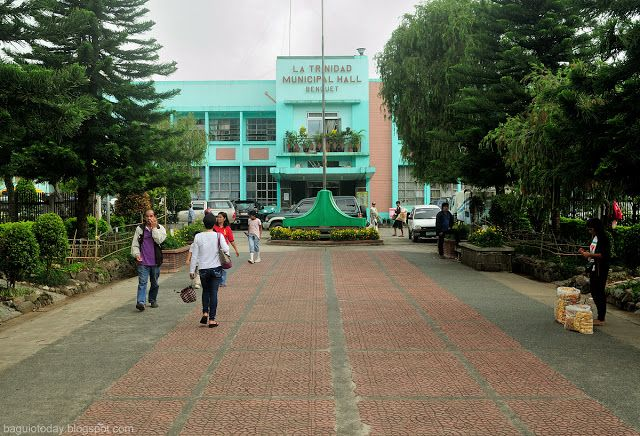 Baguio today la trinidad municipal hall may 2013 for City of la 457
