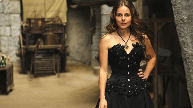 La actriz Miryam Gallego interpreta a la Marquesa en la serie Águila Roja