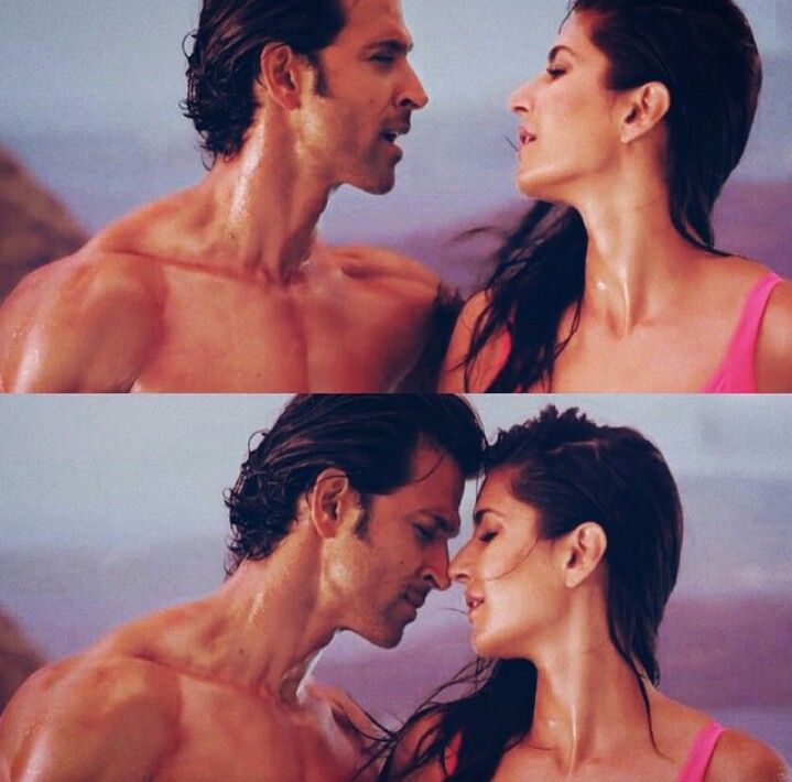 Katrina Kaif and Hrithik Roshan in Meherbaan (Bang Bang)