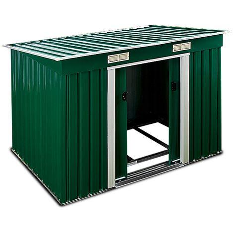 25 melhores ideias sobre abri metal no pinterest telheiros de metal abri voiture metal e - Cabane jardin fondation metz ...