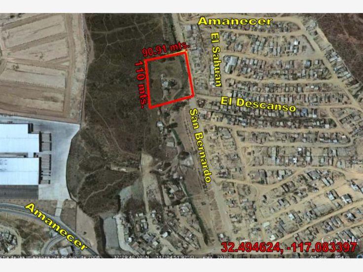 Terreno en venta Nuevo Acceso a Playas de Tijuana, Tijuana, Baja California, México $2,599,000 MXN   MX17-CQ8274
