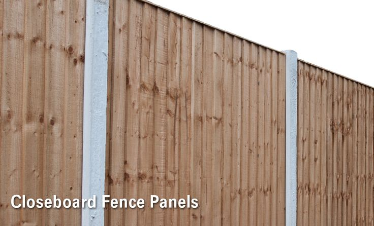 Closeboard Fence Panels