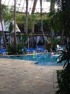 Pool After Dark Harrahs AC