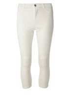 Womens Petite White 'Frankie' Ankle Grazer Jeggings- White