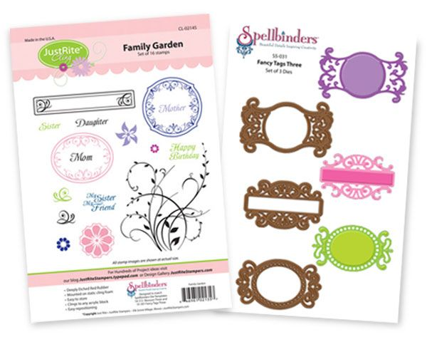 Hi, everyone!!! Welcome to a fun and inspirational Blog Hop showcasingJustRite Stampersproducts.The amount of inspiration you will get today during the Stamper's Dream/JustRite Design Team…