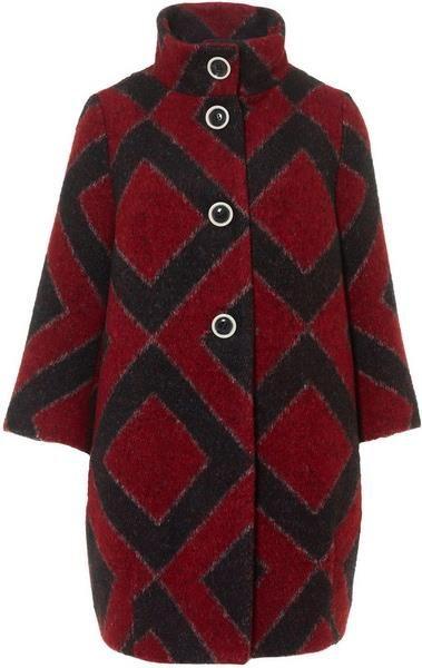 Красное пальто sysley