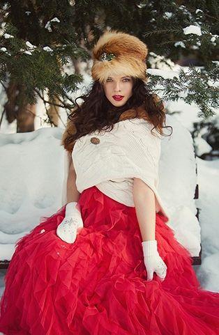#свадьба_зимой