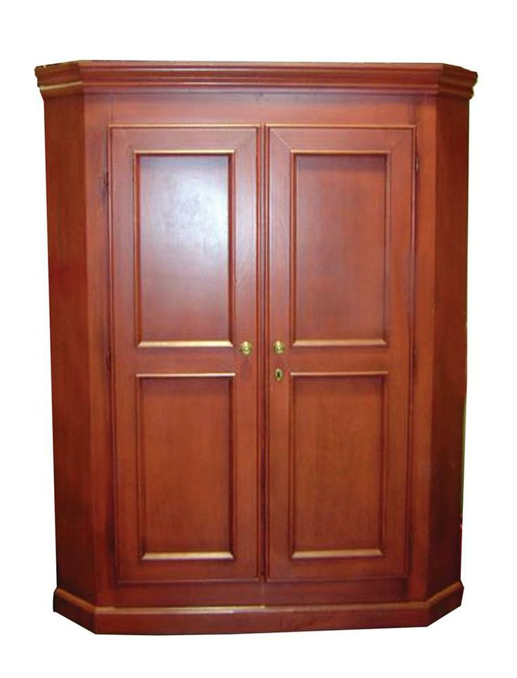 Country Corner Entertainment Center W Single Large Cabinet