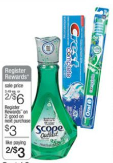 FREE Crest Toothpaste At Walgreens!