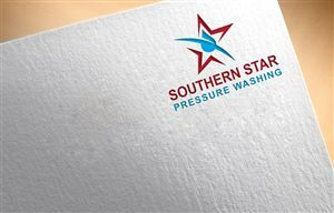 New modern pressure washing company Professional, Serious Logo Design by colour splash Learn More at: http://pressurewashersconnect.com/