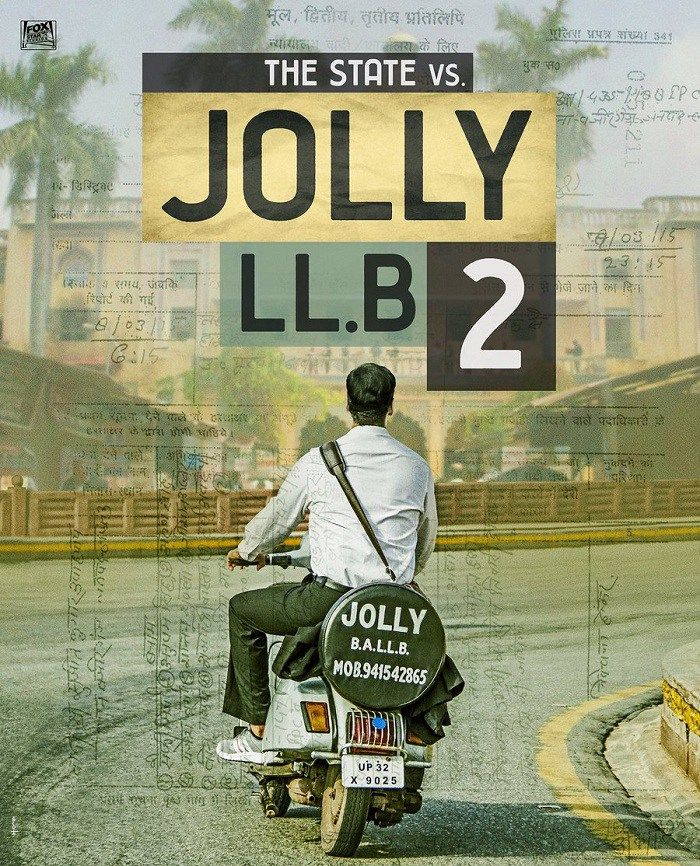 Jolly LLB 2 First Look Teaser Poster - Release Date
