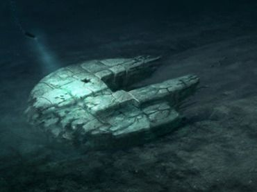 """Baltic 'UFO': New dive, new details (PHOTOS) Another observation that the crew made in person was the 300-meter-long """"trail"""" that they described as a """"runway or a downhill path that is flattened at the seabed with the object at the end of it."""""""
